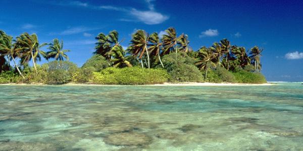 Lagoon at Palmyra Atoll