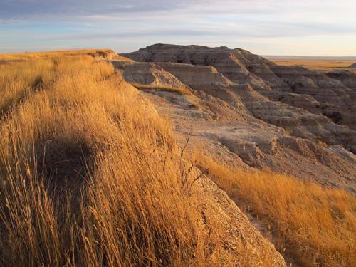 Badlands National Park overlooking Conata Basin, South Dakota