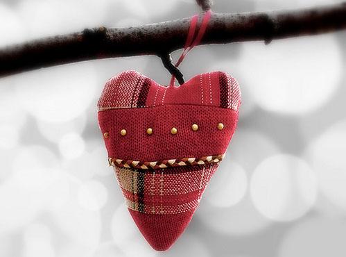 Stuffed ornament