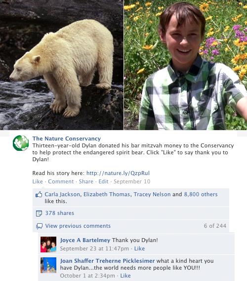 Top Facebook Post of 2012